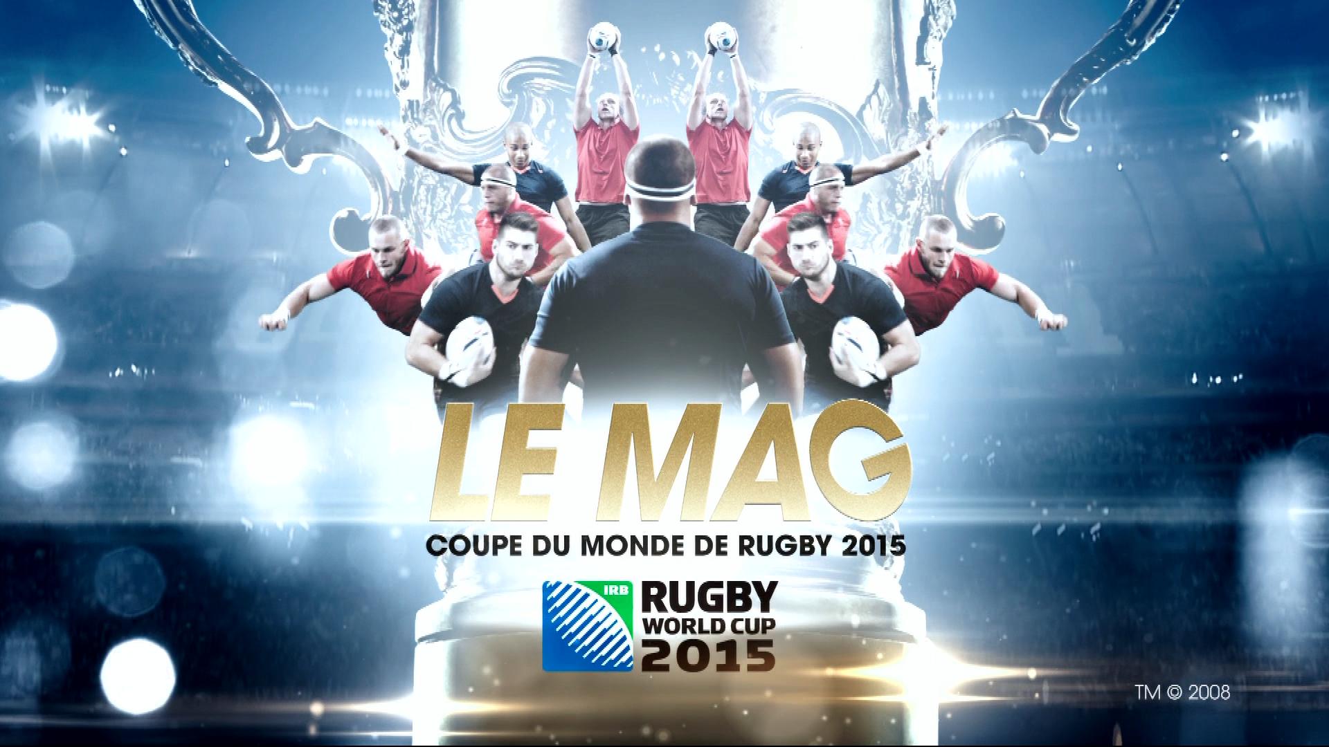 Vid o g n rique coupe du monde de rugby le mag tf1 2015 - Dates coupe du monde de rugby 2015 ...